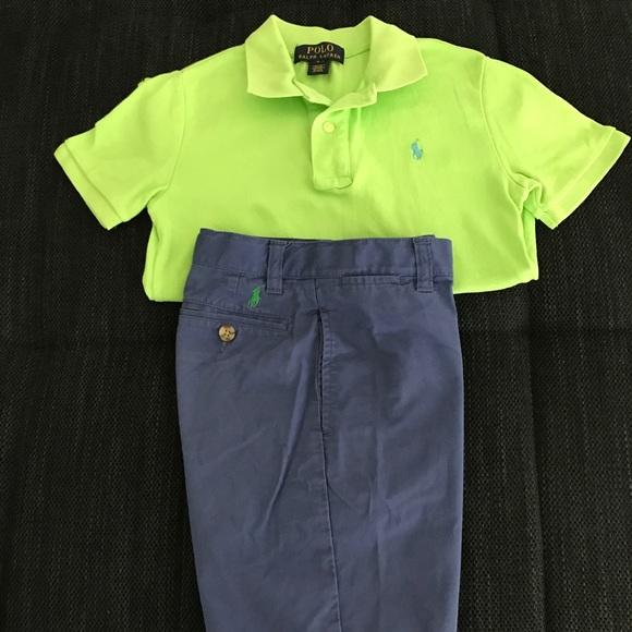 178bf1a3d Polo by Ralph Lauren Matching Sets | Polo Ralph Lauren Lime Green ...